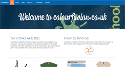 Preview of colourfusion.co.uk